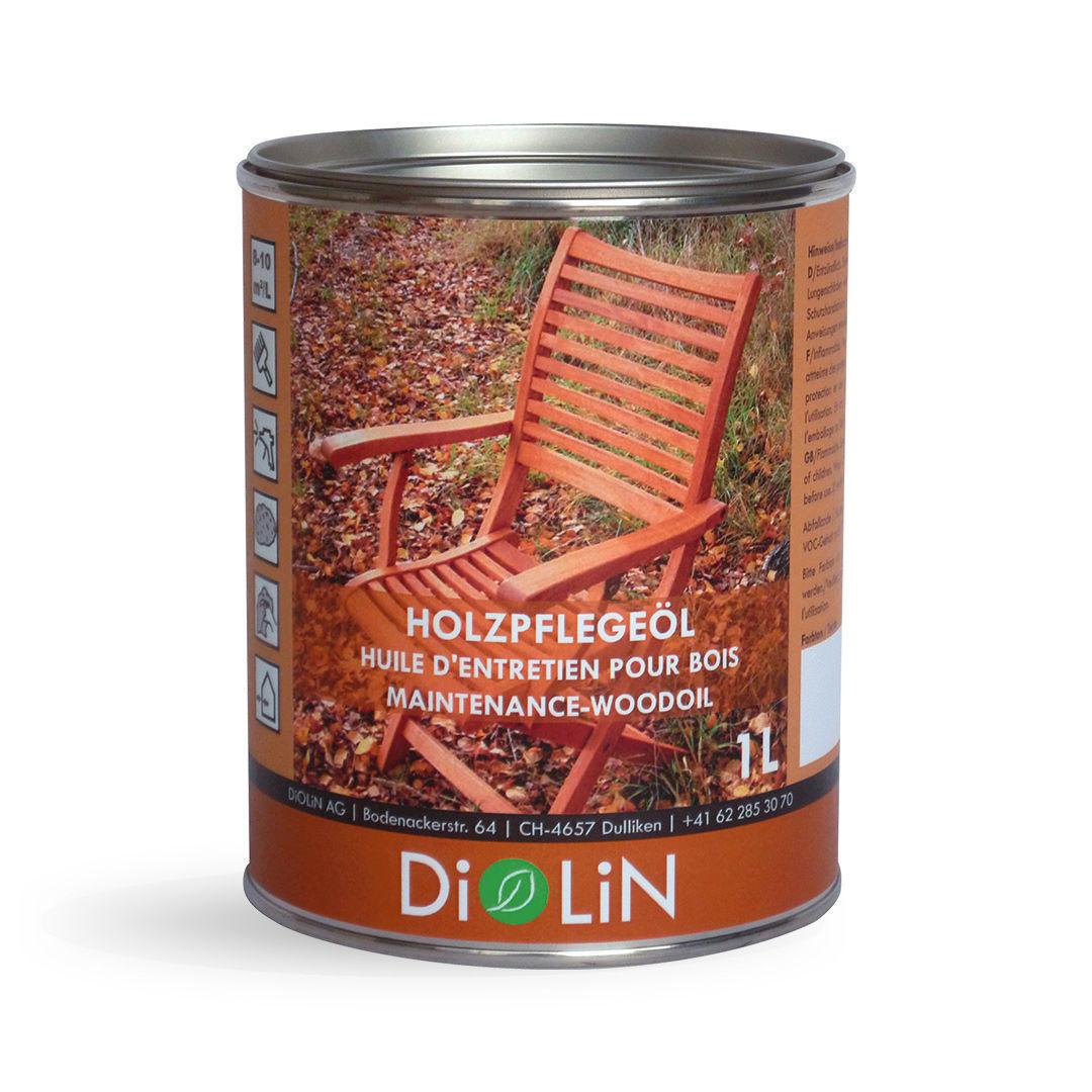 Bild von DiOLiN EM Holzpflegeöl, 1 Liter