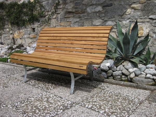 Bild von Gartenbank VERGELETTO